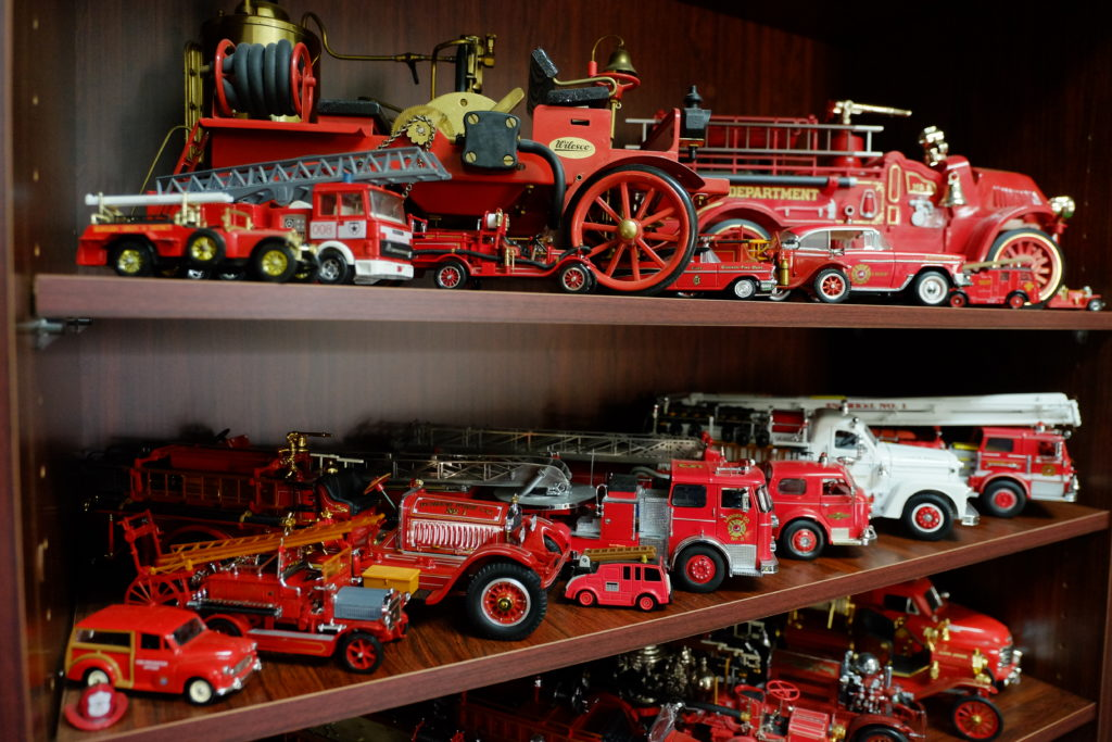 Coolamon Fire Museum models