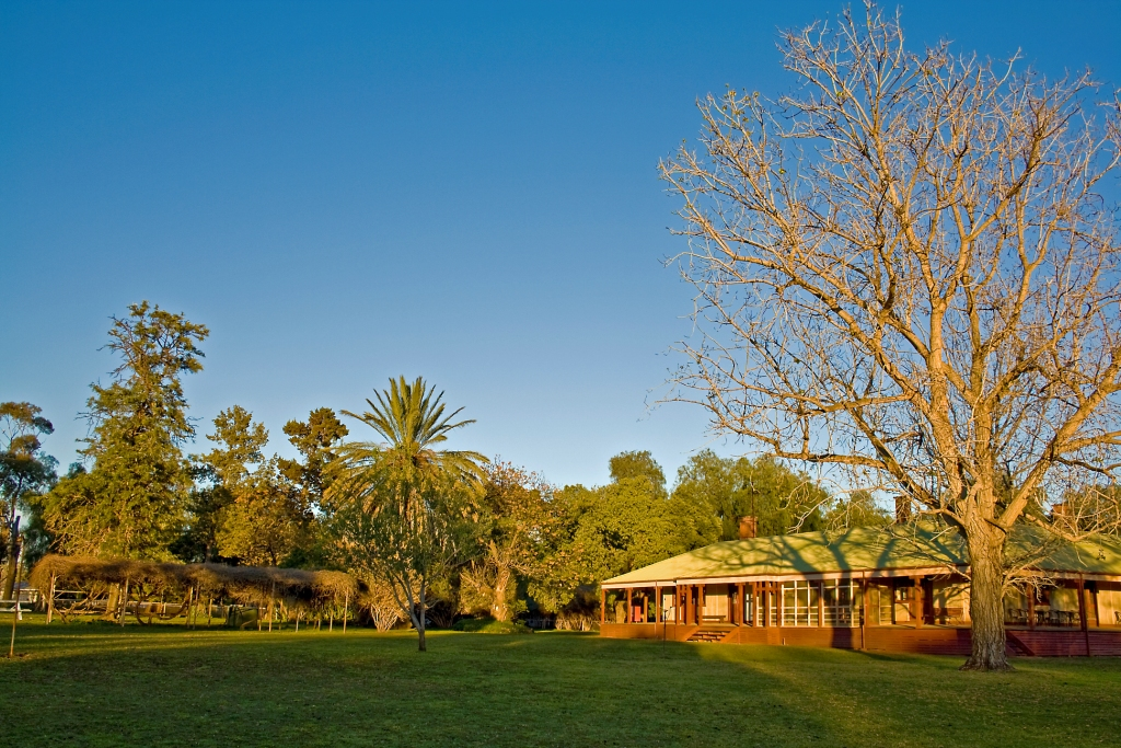 Sunset image of Willandra Homestead, Willandra National Park